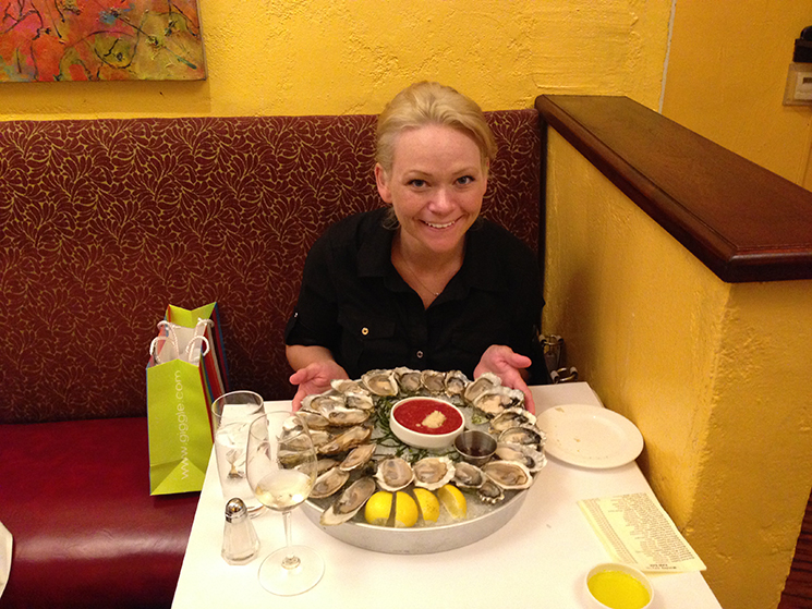 oysters before