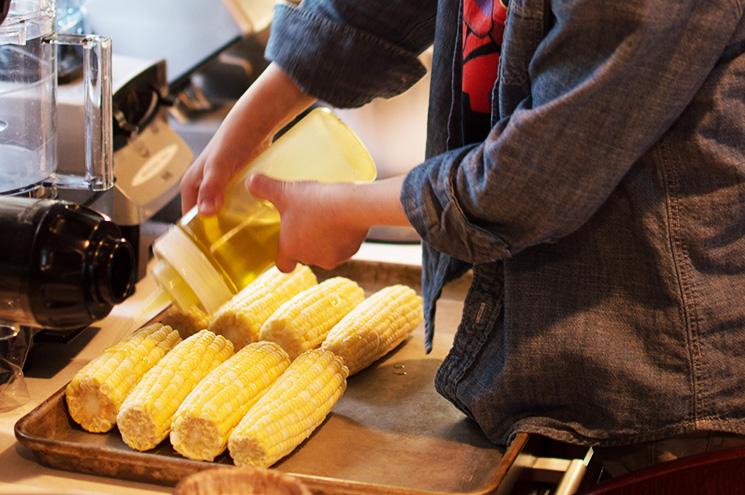 corn drizzle